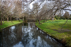 On One About (Jocey K) Tags: southisland newzealand nikond750 christchurch monavale bridge reflections gardens trees river avon avonriver sky