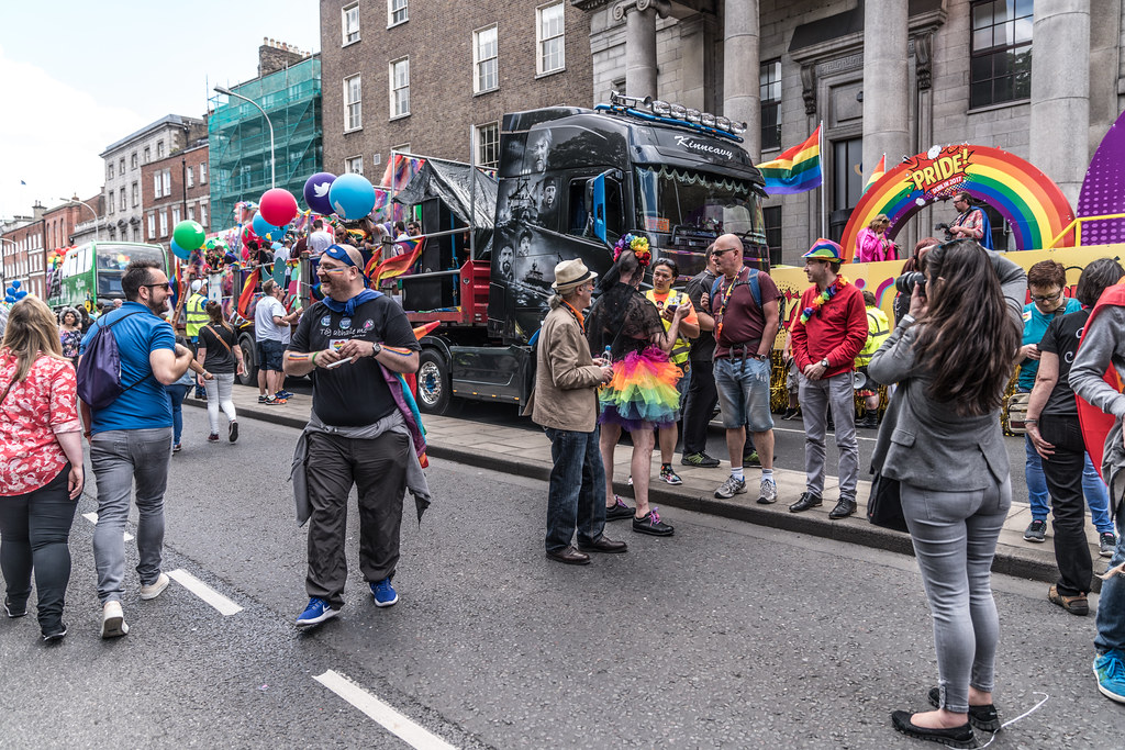 LGBTQ+ PRIDE PARADE 2017 [STEPHENS GREEN BEFORE THE ACTUAL PARADE]-129758