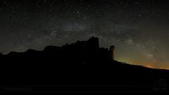 Milky Way over Los Mallos de Riglos _5336-5381 b (antarc foto) Tags: milky way via làctia milkyway vialàctia los mallos de riglos osca aragó
