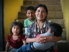 Juana and Children (mayanfamilies) Tags: guatemala mayanfamilies tierralinda vitaminangels children distribution malnutrition vitamins wellness fundaciónfamiliamaya mayan families charity donate canon eos 5d