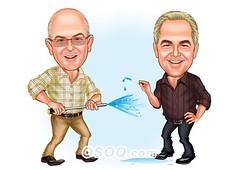 Workmates Caricature (Osoq.com) Tags: workmates caricature wwwosoqcom