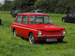 Hillman Imp - LCU 565P (1) (Andy Reeve-Smith) Tags: hillman imp lcu565p rootes rootesgroup louth louthclassiccarshow lincolnshire lincolnshirewolds deightonfields