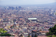 Naples - view from the district of Vomero (SomePhotosTakenByMe) Tags: panorama vomero outdoor urlaub vacation holiday italy italien naples napoli neapel city stadt innenstadt downtown skyline