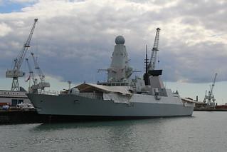 HMS Diamond, Portsmouth Harbour, April 27th 2015