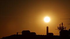 Urban sunset (flubatti) Tags: