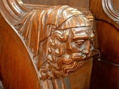 Arundel Castle - The Fitzalan Chapel - Choir Stalls and Misericords (Glass Angel) Tags: choirstalls misericords woodcarvings arundelcastle fitzalanchapel sussex elbow