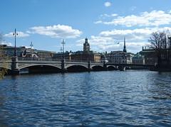 Stockholm view (toosla) Tags: stockholm river bridge cozy
