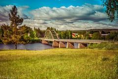 Marahällabron VII (johan.bergenstrahle) Tags: 2017 finepics umeälv bridge bro hdr june juni landscape landskap natur river sommar summer sverige sweden umeriver vännäs älv