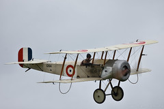 Bristol Scout C (Bri_J) Tags: flynavy airshow shuttleworthcollection oldwarden airfield bedfordshire uk nikon d7200 aircraft sigma150600mm biplane bristolscout bristol scout rnas fighter wwi
