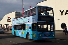 PSU 443 (markkirk85) Tags: skegness bus buses lincolnshire ex v378ewe alexander dennis trident alx400 stagecoach new grimsby cleethorpes 91999 378 v378 ewe psu 443 psu443