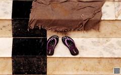 Always on Steps (shriparv) Tags: stairs footwear outside lady chappal