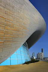 UK - London - Olympic Park - Aquatics Centre 03_DSC4221 (Darrell Godliman) Tags: uklondonolympicparkaquaticscentre03dsc4221 aquaticscentre zahahadid swimmingpool london2012 londonolympics olympicgames olympicpark 2012 olympics stratford london ©dgodliman darrellgodliman wwwdgphotoscouk dgphotos allrightsreserved copyright travel tourism europe britishisles unitedkingdom uk greatbritain gb britain england capital city instantfave omot flickrelite travelphotography travelphotographer architecturalphotography architecturalphotographer contemporaryarchitecture modernarchitecture architecture