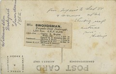 "HMAS ""Swordsman"" in dry dock at Williamstown, Melbourne, Vic - 1922 (Aussie~mobs) Tags: torpedodestroyer swordsman williamstown melbourne vintage victoria australia 1922 drydock ship destroyer"