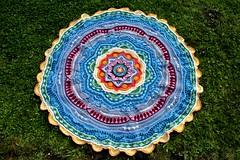 2017.06.25. part 16 3136m (villanne123) Tags: 2017 progressing mandala mandalamadness crochet crocheting crochetmandala villanne virkattua virkattu virkattumandala schachenmayrwool125
