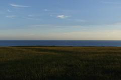 Sailboat (J. Roseen) Tags: sailboat segelbåt sea hav sky himmel land grass gräs clouds moln eos7dmkii ef2470mmf28l skandinavien scandinavia skåne norden nordic sweden sverige kåseberga
