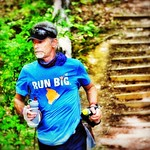 Native Jackal Marathon-the final episode of my every other day Jackal trifecta. 10 loops of 2.6 mile wooded trail, elevation ~4,000 ft. Finished 17th at 6:17:00. 3 day totals: 78.6 miles in 16:14:49. Maybe next year I'll grow up into a full fledged 5 in 5 thumbnail