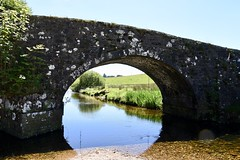 Two Bridges, Dartmoor (Dave_S.) Tags: two bridges dartmoor devon england uk gb nikon d7200 english british great britain united kingdom bridge old remote ancient river water bright sun sunshine sunny day summer west dart