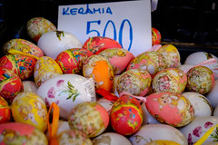 Painted Eggs (Dalliance with Light (Andy Farmer)) Tags: hungary paintedeggs centralmarket budapest hu