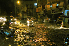 WELCOME RAIN (vijvijvij) Tags: rain floodedstreet thiruvallikeni triplicane bharathisalai pycroftsroad