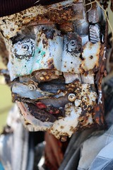 Albany Bulb (elisecavicchi) Tags: albany bulb expressive face scrap metal sculpture rust perspective headshot art san francisco bay trail california ca summer explore installation vivid bright