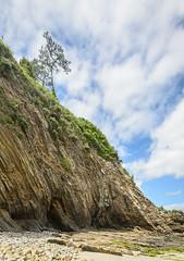 Morgat-32 (stevefge) Tags: bretagne brittany france morgat landscape sky rocks cliffs trees bomen nature natuur beach sand reflectyourworld