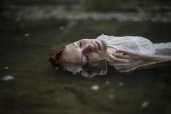 Ofelia. (himynameisnotsteve) Tags: ophelia nikon nikkor river water portrait editorial theatre beauty project