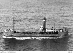 'Tuncurry II' (1909 - 1950) - Cargo vessel during WWII - 1941 (Great Lakes Manning River Shipping NSW) Tags: midnorthcoast shipbuilding glmrsnsw australia greatlakesnsw nswgreatlakes capehawkeharbour tuncurry tuncurryii tuncurry2jwbst johnwrightsyt wrightshipst allentaylorco camandsons on125205 pountneyandmcpherson historicgreatlakes wrightshipyards tuncurry21909 johnwright