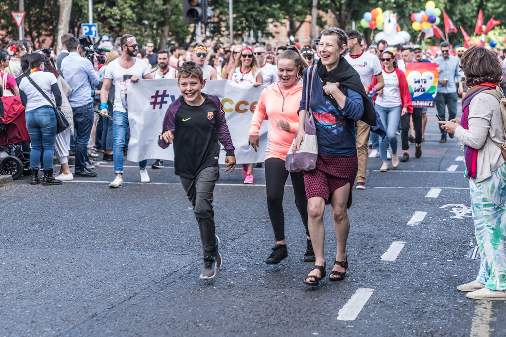LGBTQ+ PRIDE PARADE 2017 [ON THE WAY FROM STEPHENS GREEN TO SMITHFIELD]-129987