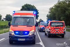 Unfall B42 Geisenheim 11.07.17 (Wiesbaden112.de) Tags: 42 b42 bundesstrase elrd geisenheim notarzt olrd polizei rettungsdienst rheingau unfall vku vu verkehrsunfall vorfahrt wiesbaden112 sst deutschland deu