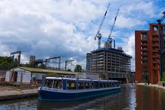 St Pancras Basin - III (Derek John Lee) Tags: london regentscanal canal railway stpancras