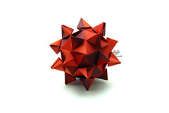 Fiction (Akizhi) Tags: origami modular kusudama paper art crafts folding