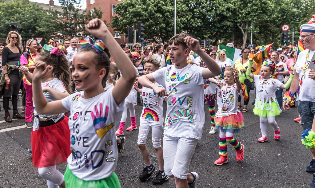 LGBTQ+ PRIDE PARADE 2017 [STEPHENS GREEN BEFORE THE ACTUAL PARADE]-129895