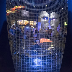 Pink Floyd Mirror Ball (the underlord) Tags: mirrorball shineonyoucrazydiamond pinkfloyd divisionbell tour stageprop reflective theirmortalremains exhibition victoriaalbertmuseum