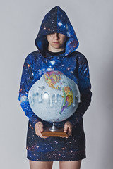 Day 3802 (evaxebra) Tags: wh wah melting world planet earth globe global warming blackmilk blue galaxy slouchy melt heat hot