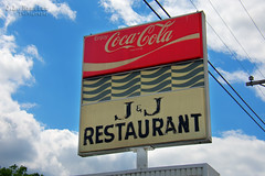 J & J Restaurant - Coca-Cola sign - Manchester, Tennessee (J.L. Ramsaur Photography) Tags: jlrphotography nikond7200 nikon d7200 photography photo manchestertn middletennessee coffeecounty tennessee 2017 engineerswithcameras cumberlandplateau photographyforgod thesouth southernphotography screamofthephotographer ibeauty jlramsaurphotography photograph pic manchester tennesseephotographer manchestertennessee tennesseehdr hdr worldhdr hdraddicted bracketed photomatix hdrphotomatix hdrvillage hdrworlds hdrimaging hdrrighthererightnow cocacola cokesign cocacolasign coke cocacolabottlingworks cocacolascript vintagecokesign vintagecocacolasign rural ruralamerica ruraltennessee ruralview smalltownamerica weathered old sign signage it'sasign signssigns iloveoldsigns oldsignage vintagesign retrosign oldsign vintagesignage retrosignage iseeasign signcity jjrestaurantsign jjrestaurant jj bluesky deepbluesky