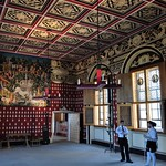 Pièces restaurées, The Great Hall (XVe), château royal, Stirling, Stirling and Falkirk, Ecosse, Royaume-Uni. thumbnail