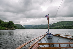 Ullswater, Cumbria (joanjbberry) Tags: ullswater cumbria lakedistrict ullswatersteamers lake mountains water trees countryside boat boattrip steamer