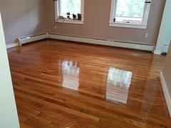 Hopewell Juction project  #sanding #refinishing #redoak #stain #floorandpaint (floorandpaint) Tags: redoak refinishing floorandpaint stain sanding
