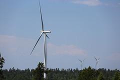 Wind Turbines (cj_hunter) Tags: windturbines wind turbines architecture electricity power renewable ontario canada greenwichwindfarm greenwich windfarm blades generator generation