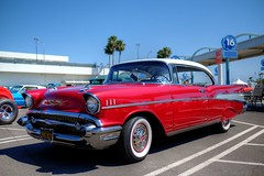 The Port of Los Angeles Presents Cars and Stripes Forever San Pedro, Ca. USA June 30th 2017 (JCD Images) Tags: carsandstripesforever portoflosangeles classiccars lowriders exoticcars 4thofjulyweekend losangeles sanpedro southbay california autoshow carshow june 2017 cars autos automobile street autocarclub chrome rims custompaint hdr 1957 chevrolet belair