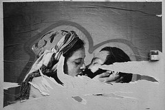 (Andrei Singer) Tags: street paris france urban europe love human art wall