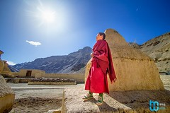 Tabo Monastery (manuj mehta) Tags: monastery monks spiti valley incredible india people red robe buddhist tibetian young kaza kalpa himachal pradesh himalayan ranges photography lonely planet travel unexplored discover amazingshot amazing peace key dhankar gompa