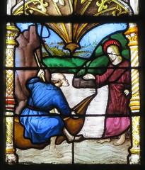 Cathédrale Sainte-Marie, Vitraux (1507-1513) de Arnaud de Moles, Auch (32) (Yvette G.) Tags: auch gers 32 occitanie midipyrénées cathédrale vitrail arnauddemoles renaissance