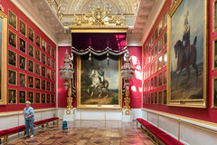 Hermitage Cleaning Day (Packing-Light) Tags: ru rusia stpetersburg hermitage art architecture cleaning service gilded paintings interior