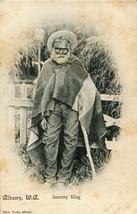 An Australian aborigine named Jonomy King in Albany, W.A. -  1906 (Aussie~mobs) Tags: vintage australia 1906 aborigine native indigenous jonomyking albany thomastodd westernaustralia aussiemobs