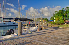 Jolly Harbour Marina in Evening Light (ronmcmanus1) Tags: hdr antigua boat landscapes outdoors waterwaterfront jollyharbour stmarysparish antiguabarbuda