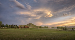 ethereal (andy_8357) Tags: sony a6000 6000 alpha e pz 1650mm selp1650 haystack mountain frontrange front range co colorado sky foothills boulder valley mountains oxford rd landscape grass farm field fence white ethereal clouds blue green trees niwot chief arapahoe indians breathtaking breath taking ilce6000 ilcenex sunset landscapes wide angle mirrorless oss