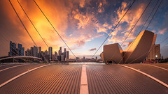 Marina Bay Burn 2017 (Scintt) Tags: singapore marina bay exposure sunset light evening dramatic surreal travel urban exploration buildings cityscape city skyline architecture offices business tanjong pagar central district cbd financial jon chiang photography scintillation scintt sky clouds residential sony a7r canon 17mm tse tilt shift hotel integrated resort casino exclusive tourism shopping mall property dusk wide angle residences banks field glow orange fiery sun artscience museum pano panorama stitched