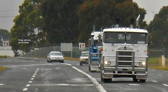 photo by secret squirrel (secret squirrel6) Tags: secretsquirrel6truckphotos craigjohnsontruckphotos australiantruck bigrig worldtruck truckphoto convoy kenworth cabover sandown photo