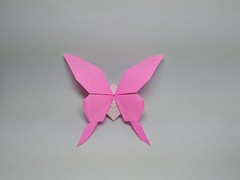 Swallowtail Butterfly by Kota Imai (Zephyr Liu) Tags: origami kami paper swallowtail butterfly kota imai
